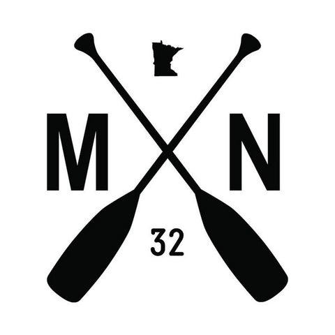 MN Paddle Decal