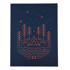 Boundary Waters Print