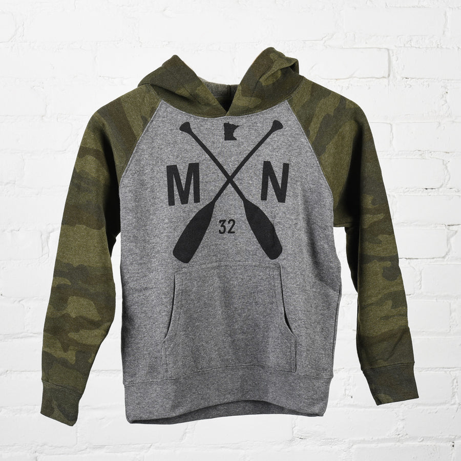 Cooper Camo Youth Hoodie