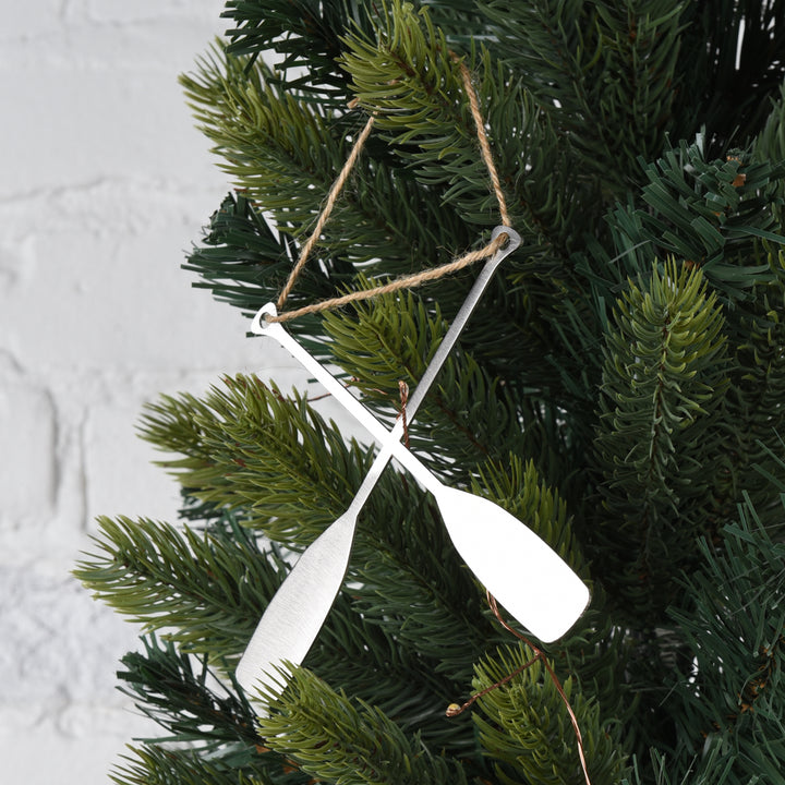 Powderhorn Paddle Ornament