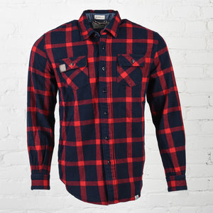 Men's Navy Flannel