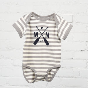 Striped Maple Onesie