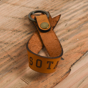 Roslyn Ribbon Key Chain