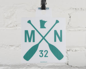 MN Paddle Sticker