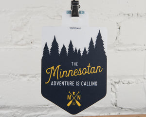 The Minnesotan Sticker