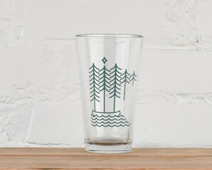 Halfmoon Pint Glass