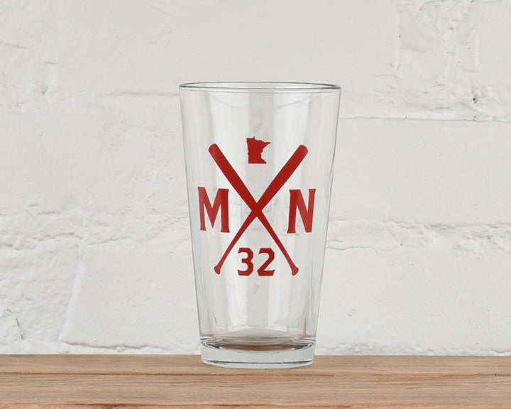Batter Up Pint Glass