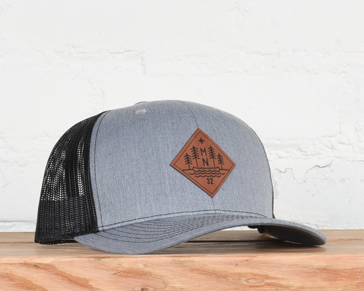 Smoke Lake Snapback Hat