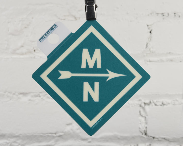 MN Diamond Sticker
