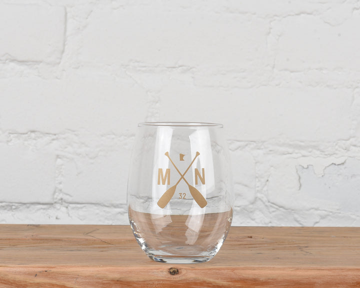 The Parlour Stemless Wine Glass