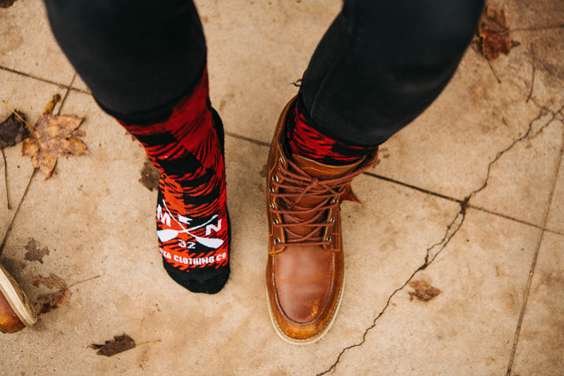 Lumberjack Wool Socks