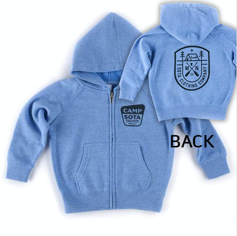 Camp Kitchigami Toddler Zip Up