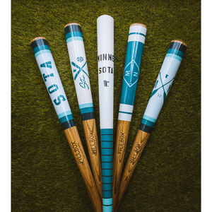 Crossed Paddles Baseball Bat - Pillbox Collab