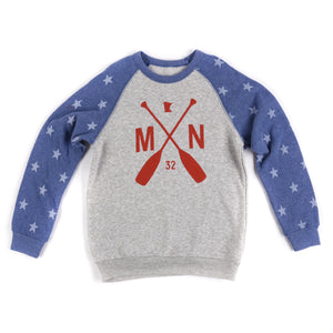 Starry Night Youth Crewneck