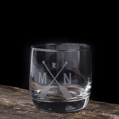 The Den Low Ball Glass