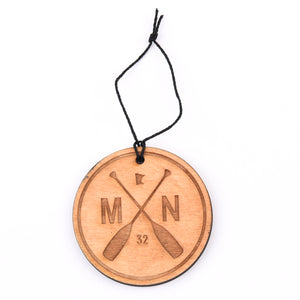 MN Paddle Holiday Ornament