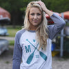 Baseball t-shirt - MN crossed Paddle logo