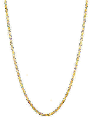 14k Solid Yellow Gold Mariner Link Chain Necklace 2.3mm