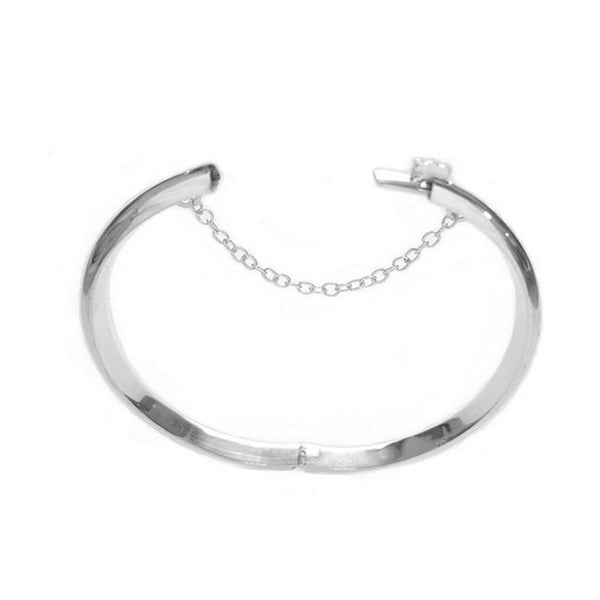 Children's Sterling Silver Engraved Baby Bangle Bracelet Kids 5.5 Inches