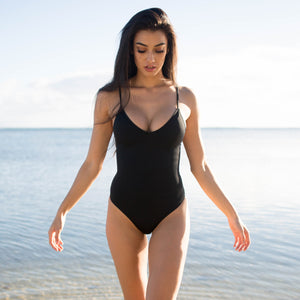 The Lexington One Piece Swimsuit - Ink