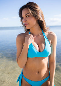 The Halsted Bikini Top - Lagoon