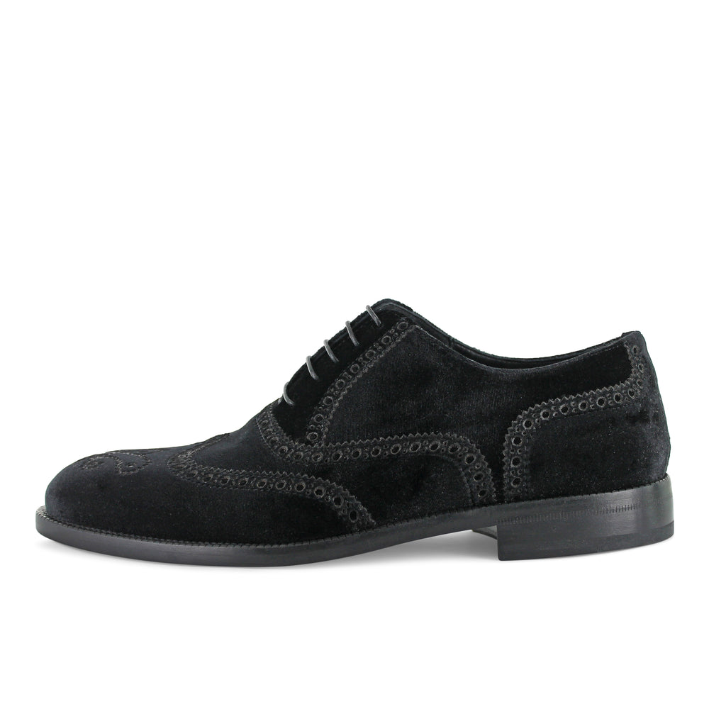 Sukie - Black Velvet Brogue