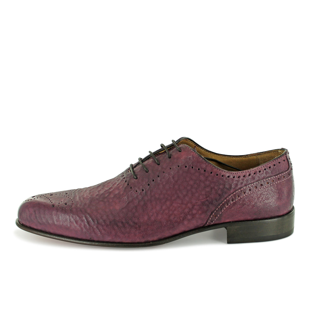 S3532 - Plum Ripple Brogue