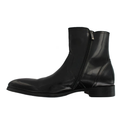 1307 - Black Polished Boot