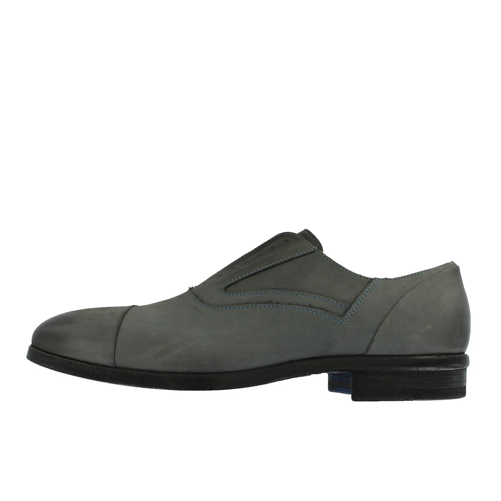 B515 - Grey Slip On Shoe