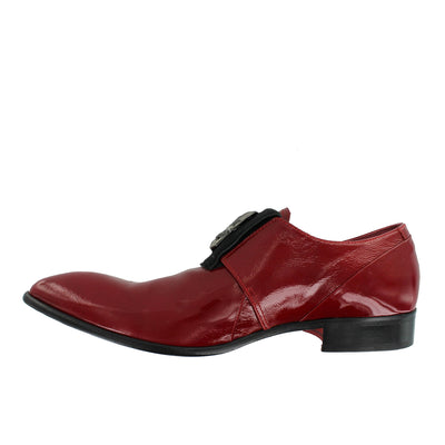 J3305 - Red Skull Slip On