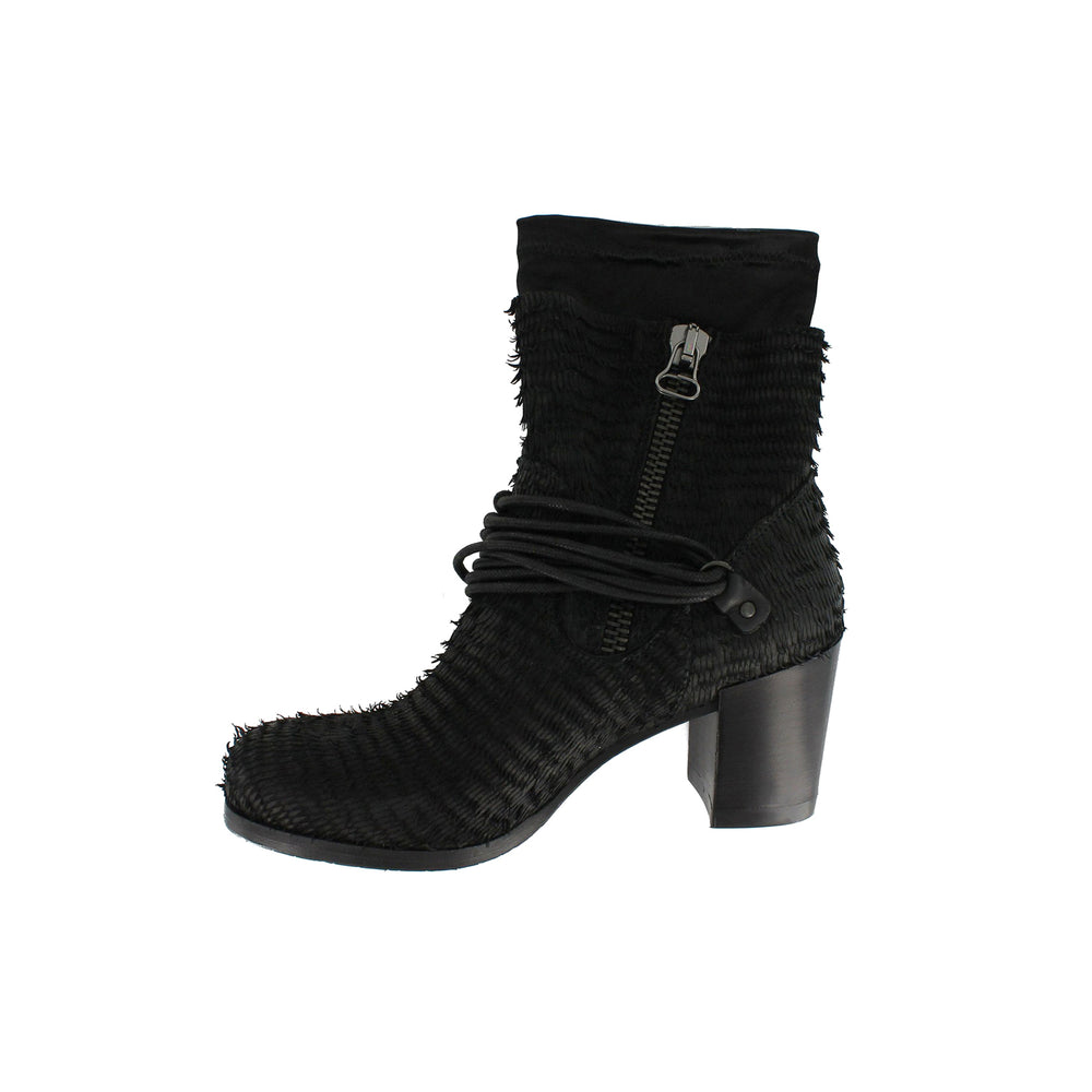 1402X28 - Black Ankle Boot