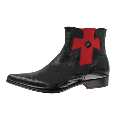 Got 10 - Black Pointed With Red Iron Cross