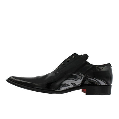 Got 11 - Black Patent Pointed Slip On