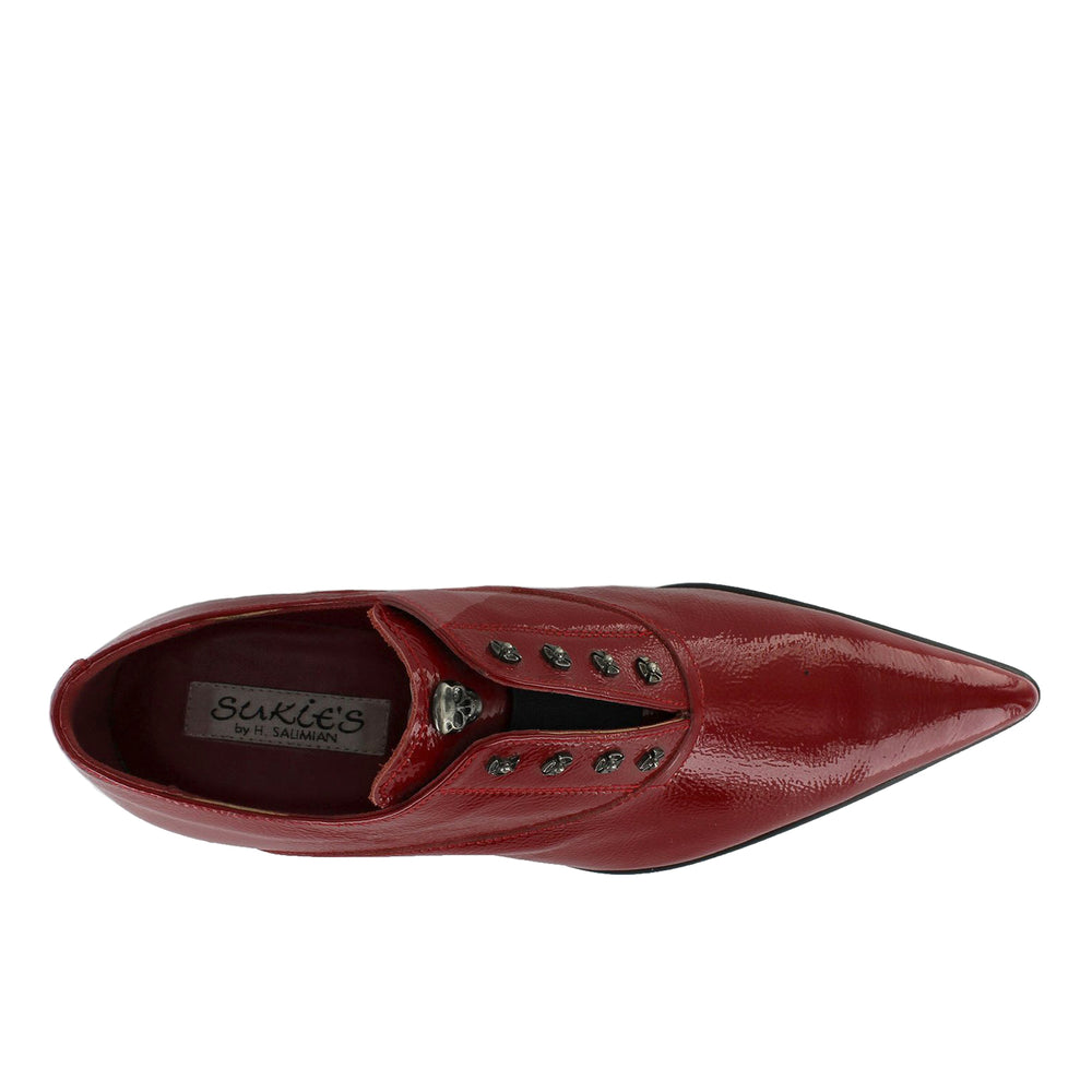 Got 11 - Red Patent Pointed Slip On