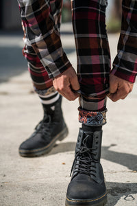 Red Rad Plaid - Pants