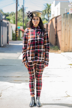 Red Rad Plaid - Jacket