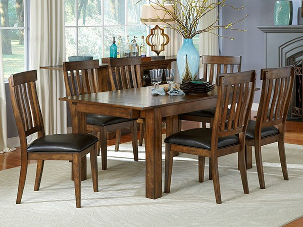 Mariposa Rustic Whiskey Dining Table