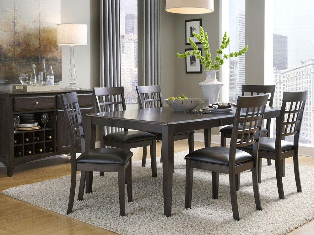 Bristol Point Warm Grey Dining Table
