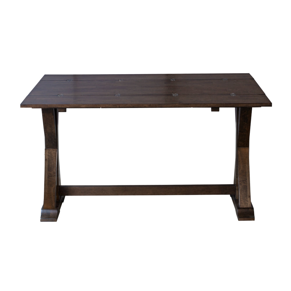 Brooklyn Heights Trestle Dining Table Konto Furniture