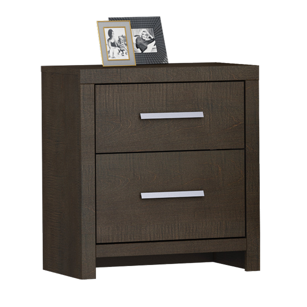 Castle Two Drawer Nightstand