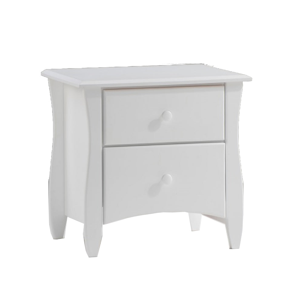 Clove Nightstand White