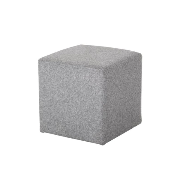 Jackson Light Grey Ottoman