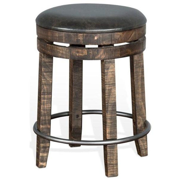 Metroflex Backless Swivel Stool