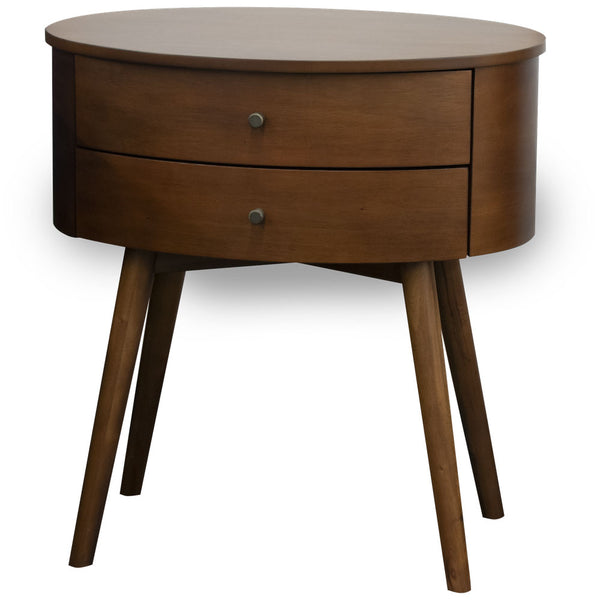 Midcen Oval Nightstand