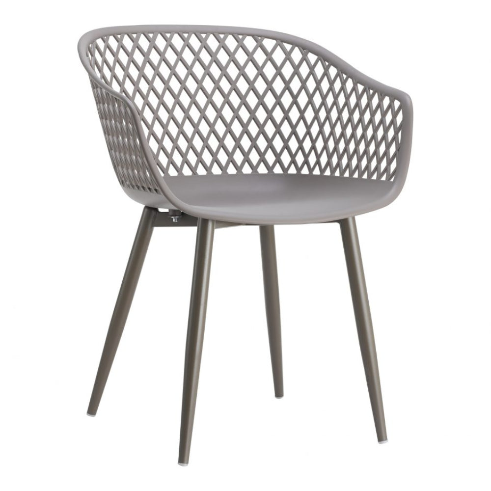 Piazza Grey Dining Chair