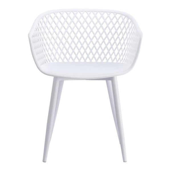 Piazza White Dining Chair