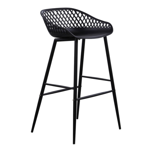 Piazza Black Stool