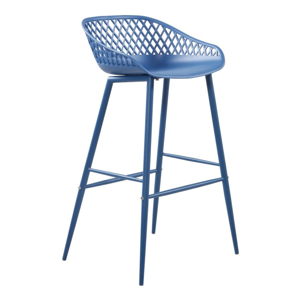 Piazza Blue Stool