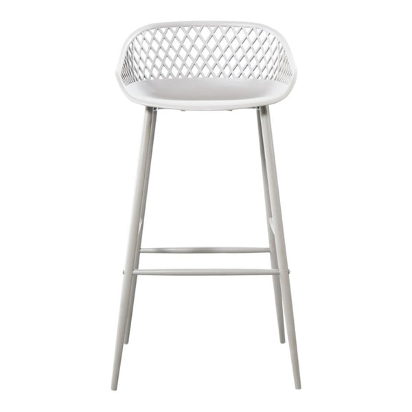 Piazza White Stool