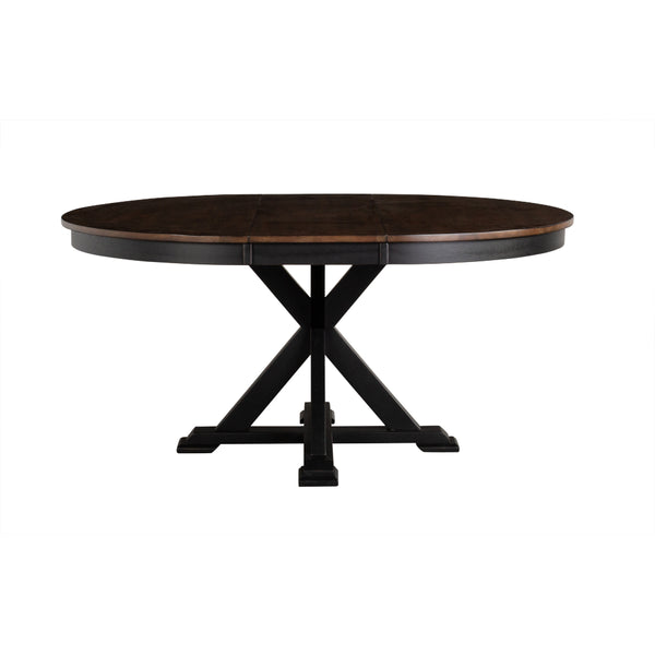 Stormy Ridge Round Extension Dining Table